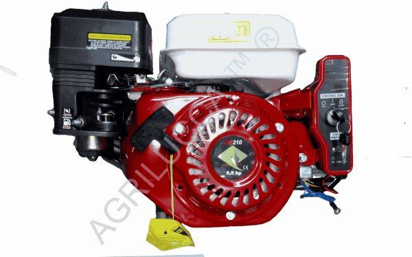 ALT=Motore a scoppio 6.5 hp-GN200 acc.elettrica
