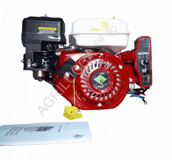 alt=Motore a scoppio 7 hp GN 210 accensione elettrica