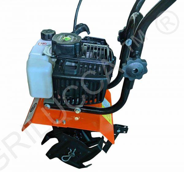 alt=Motozappa 52 cc 2 tempi HT-CT1001 vista motore