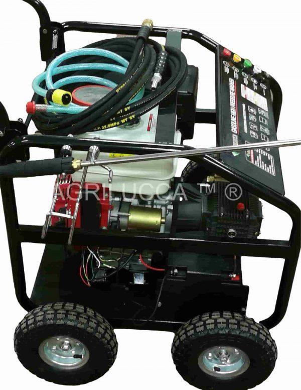 alt=Idropulitrice a scoppio 250 bar LB250 accensione elettrica e batteria