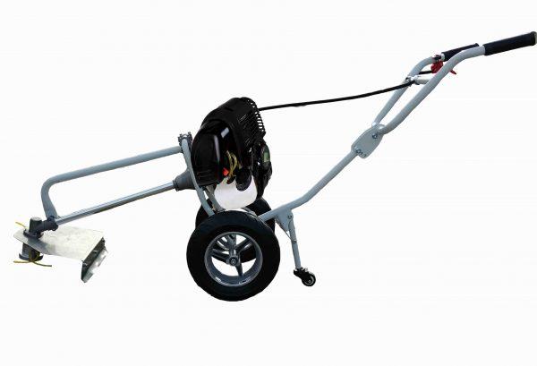 alt=Decespugliatore con ruote 4 tempi AG-GZ35 super versione lato