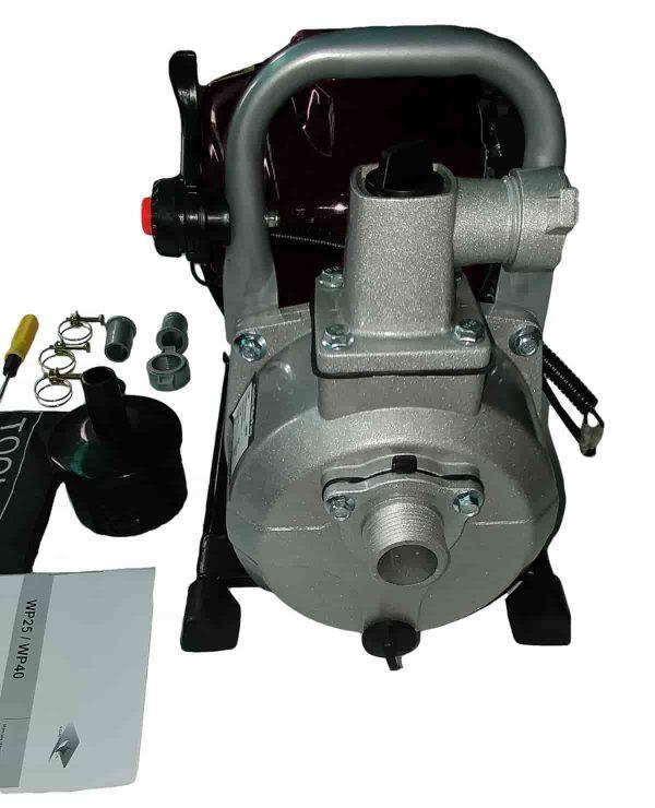 alt=Motopompa 4 tempi AG-GZ35 vista pompa