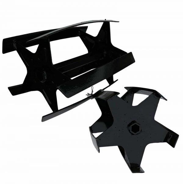 ALT=fresa a ruote acciaio forgiato per motozappa tf001a
