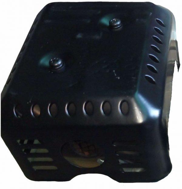 alt=Gruppo marmitta silenziatore completo per motori 13-15-18 hp