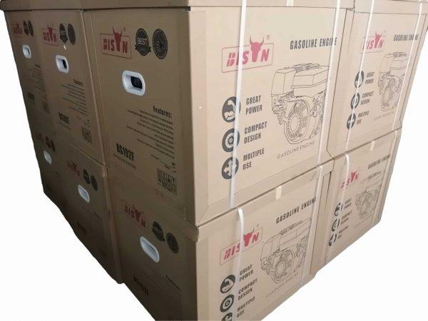 alt=Motore a scoppio BISON power 18hp avvio elettrico e batteria package