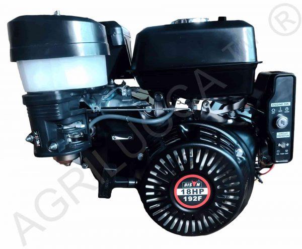 alt=Motore BS460 18hp avvio elettrico batteria e filtro olio