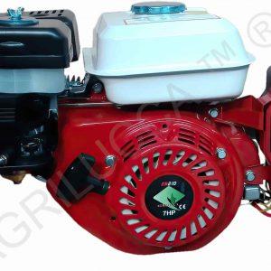 alt=motore GN210 avvio elettrico puleggia batteria e filtro olio