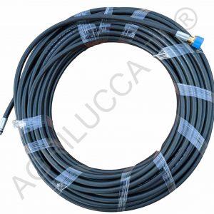 alt=Sonda spurgatubi sturatubi antipiega 30 metri per idropulitrici 200 bar